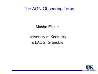 The AGN Obscuring Torus