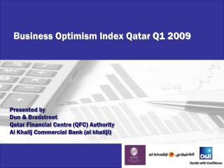 B usiness Optimism Index Qatar Q1 2009