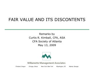 FAIR VALUE AND ITS DISCONTENTS