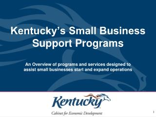 Small Business Services Division