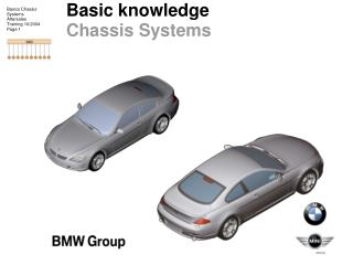 Basic knowledge Chassis Systems