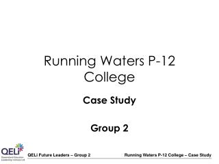 Running Waters P-12 College