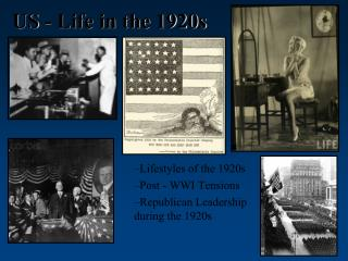 US - Life in the 1920s