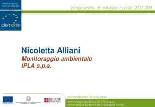 Nicoletta Alliani