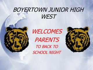 BOYERTOWN JUNIOR HIGH WEST
