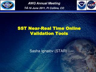 SST Near-Real Time Online Validation Tools