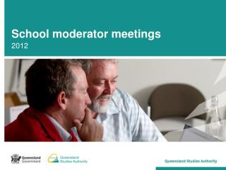 School moderator meetings