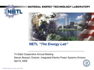 "NETL  ""The Energy Lab"""