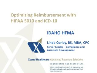 Optimizing Reimbursement with HIPAA 5010 and ICD-10