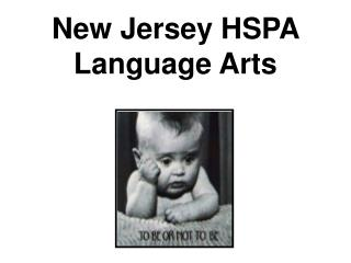 New Jersey HSPA Language Arts