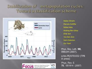 Stabilization of    metapopulation  cycles:   Toward a classification scheme