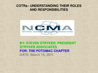 COTRs– UNDERSTANDING THEIR ROLES AND RESPONSIBILITIES
