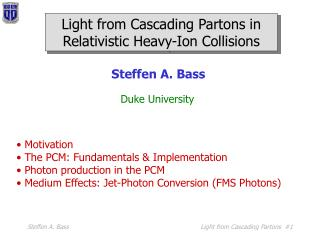 Light from Cascading Partons in Relativistic Heavy-Ion Collisions