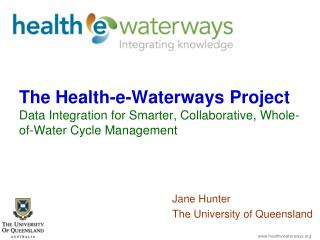 Jane Hunter The University of Queensland