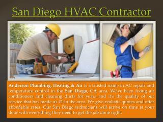 San Diego HVAC Contractor