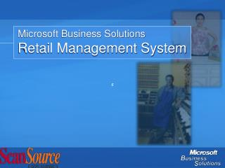 Microsoft Business Solutions Retail Management System