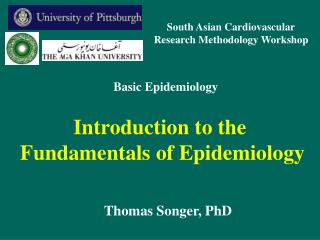 Introduction to the  Fundamentals of Epidemiology