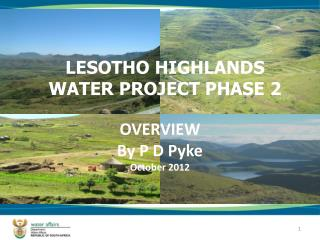 LESOTHO HIGHLANDS WATER PROJECT PHASE 2