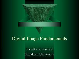 Digital Image Fundamentals