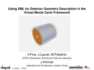 Using XML for Detector Geometry Description in the Virtual Monte Carlo Framework