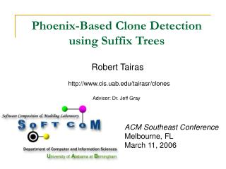 Phoenix-Based Clone Detection using Suffix Trees