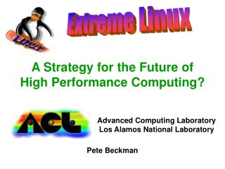 A Strategy for the Future of  High Performance Computing?