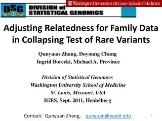 Adjusting Relatedness for Family Data in Collapsing Test of Rare Variants