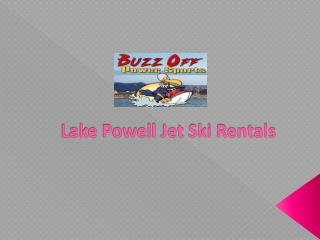 Lake Powell Jet Ski Rentals