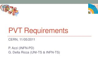 PVT Requirements