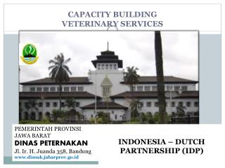 CAPACITY BUILDING  VETERINARY SERVICES