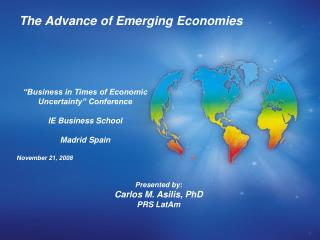 The Advance of Emerging Economies