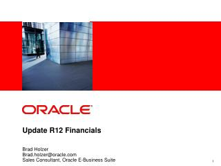Update R12 Financials