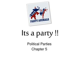 Its a party !!