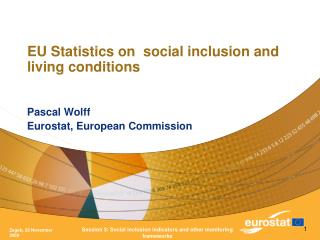 EU Statistics on  social inclusion and living conditions
