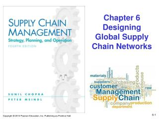 Chapter 6 Designing Global Supply Chain Networks