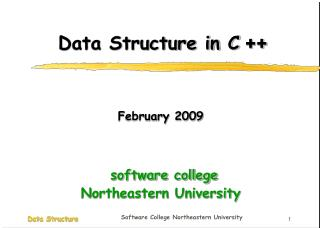 Data Structure in C  ++