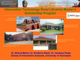 Information Technology Rural Librarian Master's Scholarship Program