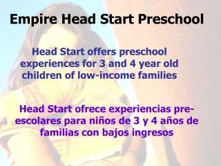 Empire Head Start Preschool
