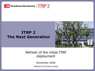 ITRP 2 The Next Generation