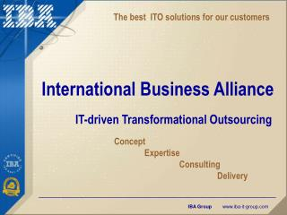 International Business Alliance