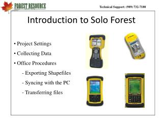 Introduction to Solo Forest