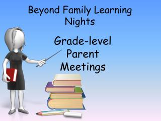 Beyond Family Learning Nights