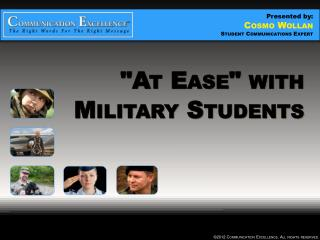 """At Ease"" with Military Students"