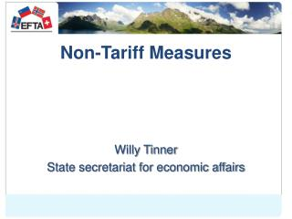 Non-Tariff Measures