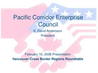 Pacific Corridor Enterprise Council