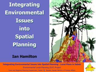 Integrating Environmental Issues  into  Spatial  Planning