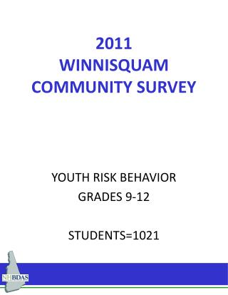 2011 WINNISQUAM        COMMUNITY SURVEY