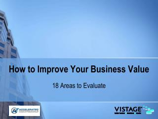 How to Improve Your Business Value