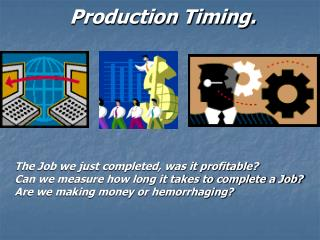 Production Timing.
