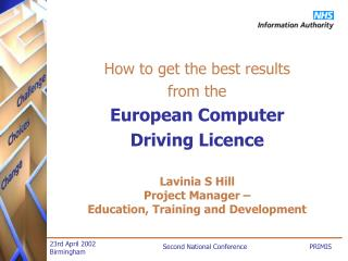 How to get the best results from the European Computer Driving Licence